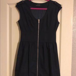 Club Monaco Navy Wool Dress